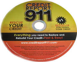 Credit Report 911 Credit Repair Software and eBook CD-Rom