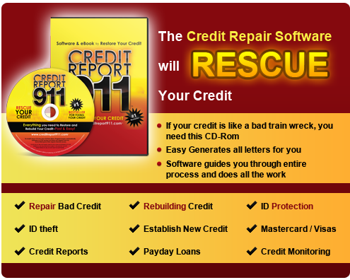 Credit Repair Software Credit Report 911